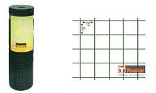 RETE METALLICA ZINCATA E PLASTIFICATA ELETTROSALDATA 12X12 RECINZIONE H 50 CM