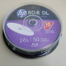 HP BD-R DL 6X 50GB Double Layer Printable 10 Pack in Spindle