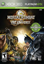 Mortal Kombat VS DC Universe XBOX 360 Replacement Case--NO GAME INCLUDED