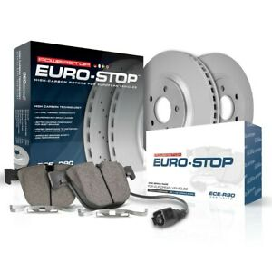 ESK2997 Powerstop Brake Disc and Pad Kits 2-Wheel Set Rear New for Mercedes