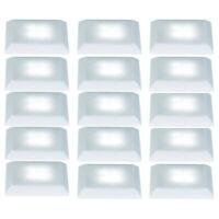 5 x Nice Price 3629 Bodeneinbauleuchten Set LED 3x0,3W satin inkl. Leuchtmittel