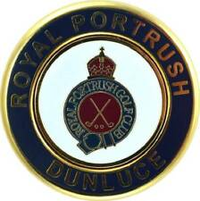 ROYAL PORTRUSH Medallion COIN with REMOVABLE GOLF BALL MARKER