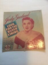 Judy Garland Look For The Silver Lining 45 Vinyl Record MGM Records