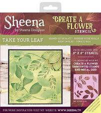 Take Your Leaf - Crafters Companion Sheena Douglass Create A Flower Stencil