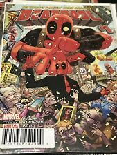 Deadpool 1 Signed In Red By Nicieza 182 Of 225