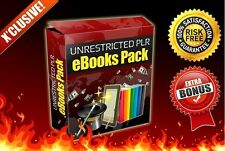 255 Fully Unrestricted PLR eBooks plus Bonus 7 Platinum eBooks