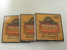 GHS A260 Mandolin Strings Med/Light (3 SETS) NEW ~Free Shipping To U.S.A.~