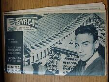 09/11/1961 Revista Barcelona: no 310-cubre el partido contra ATLETICO DE MADR