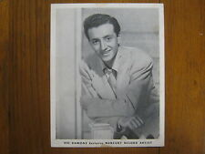 VIC  DAMONE    The  Lively  Ones/You  Do   Signed  7 X 9   Vintage  B & W  Photo
