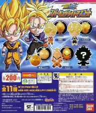 DRAGONBALL KAI Sparking Light Mascot Goku Trunks Broly Krillin Gashapon of 11pcs