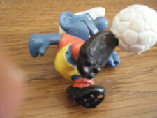 """2"""" PVC SOCCER SMURF w/CLEATS ON SHOES – VERY RARE"""