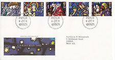 10 NOVEMBER 1992 CHRISTMAS ROYAL MAIL FIRST DAY COVER BETHLEHEM SHS (a)