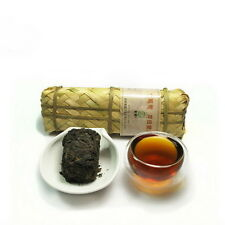 Tibetan Tea Horse Road Dark Tea Sichuan Ya'An Hei Cha in Bamboo Basket 200g