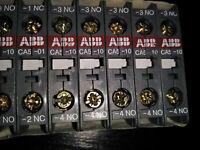 ABB CA5-10 NEU Hilfskontakt Hilfsschalter Hilfskontaktblock Hilfsschalterblock %