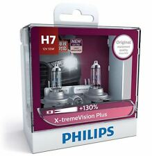1 x PAIR Philips H7 Headlight Globes X-treme Vision Plus 130% 12972XVPS2