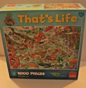 Thats Life - 1000 piece puzzle (ocean theme)