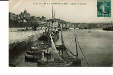 CPA-Carte postale-FRANCE-Boulogne sur Mer-Le Port vue générale-VMO16673