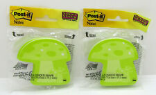 Lot Of 2 Packs Post It Super Sticky Notes 29 X 28 Green Mushroom Notes