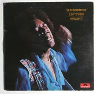 JIMI HENDRIX*HENDRIX IN THE WEST*LP RECORD UK IMPORT POLYDOR 2302 018 TESTED