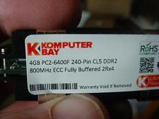 ONE Komputerbay 4GB APPLE PC2-6400F 240 Pin CL5 DDR2 800MHz ECC Fully Buffered