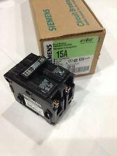 Q215 Siemens Circuit Breaker 2 Pole 15 Amp 120/240V (New) Box Of 6