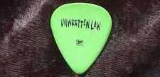 UNWRITTEN LAW 2005 Mourning Tour Guitar Pick!!! STEVE MORRIS concert stage #1