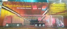 DIECAST MODEL TRUCK VOLVO POST LOGISTICS VER DI GUV GERMAN EUROPEAN