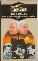 RARE: Doctor Who - The Massacre. Mint Virgin blue spine edn. % to charity do!