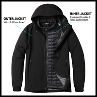 North Face Mens Jacket | 3 in 1 Jacket THERMOBAL TRICLIMATE| RRP 300
