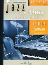 Jazz in Time Vol. 1  Le Blues  J-M Allerme  Piano Jazz  Partition avec CD