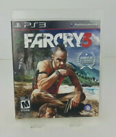 Far Cry 3 (Sony Playstation 3, 2012) Complete