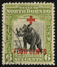 Single George V (1910-1936) North Bornean Stamps