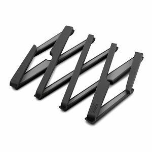 Joseph Joseph Stretch Expandable Silicone Pot Stand / Trivet - Black