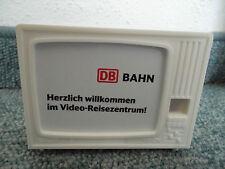 Deutsche Bahn Klick Kino Videoreisezentrum-Plastikop Fernseher