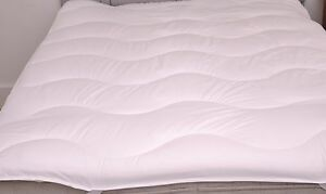 ANTI ALLERGY Luxury Quilted Mattress Topper / Reviver Slight Seconds