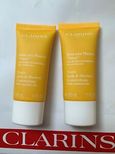 CLARINS Tonic Bath &  Shower Concentrate 60ml = 30ml x 2