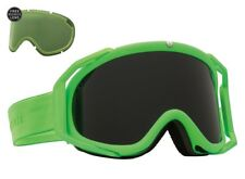 NEW Electric Rig Slime Green Jet Black mens ski snowboard goggles + lens Ret$160