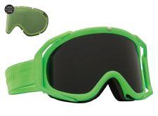 NEW Electric Rig Slime Green Jet Black mens ski snowboard goggles + lens Ret$160