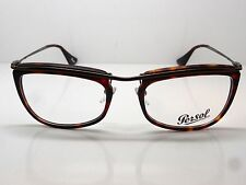 New Authentic PERSOL 3083-V 899 Matte Tortoise RX 53mm Eyeglasses
