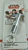 Star Wars Luke Skywalker Lightsaber Keychain LED Light Key Chain Lucasfilm