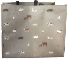 Green Sheep Print By ECO CHIC Reusable Folding Shopping Bag 100/% Recycled