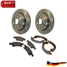 Brake Kit, Vented Rotors, trasero Jeep Grand Cherokee WK2 2011/2015