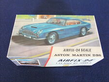 Airfix Aston Martin DB6 1:24 Plastic Model Kit unmade in Box - missing one piece