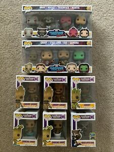 Funko Pop Guardians of the Galaxy set