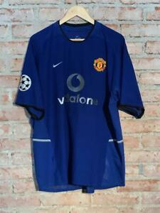 Manchester United 2002 Nike Third #10 van Nistelrooy Champions League matchworn