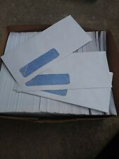 New listing #10 window envelope white security tint 400 count