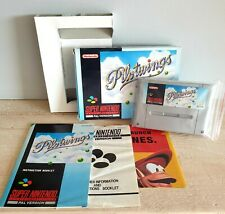 PILOT WINGS - SNES - Boxed & Complete - Pal UK - Nintendo - GREAT CONDITION