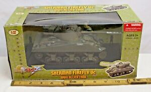 21st CENTURY TOYS SHERMAN FIREFLY VC TANK WWII MODEL 1/32 BOXED NEW