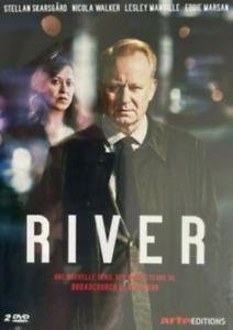 COFFRET 2 DVD - RIVER / SKARSGARD, WALKER, MANVILLE, MARSAN, NEUF