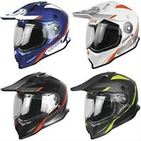 Just1 J14 Line Carbon Fiber Adventure Dual Sport Street Helmet Troy Lee Shoei